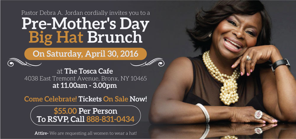 PastorDebraJordan-Mother's-Day-Brunch