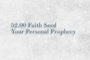 52 Faith Seed Your Personal Prophecy
