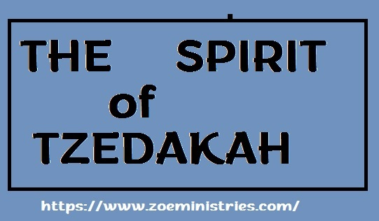 THE SPIRIT OF TZEDAKAH