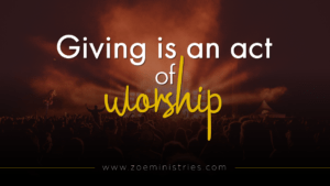 Giving-is-an-act-of-worship